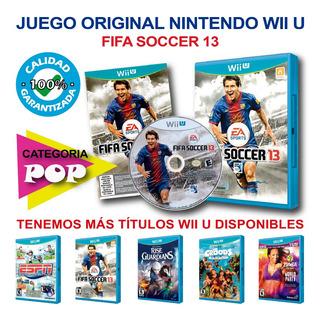 Juego Original Fifa Soccer 13, Nintendo Wii U