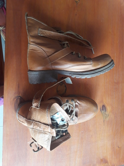 Borcegos Talle 37 Mujer