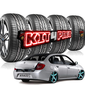 Kit 4 Pneu Ling Long 205/40r17 84w Cross Wind Extra Baixo