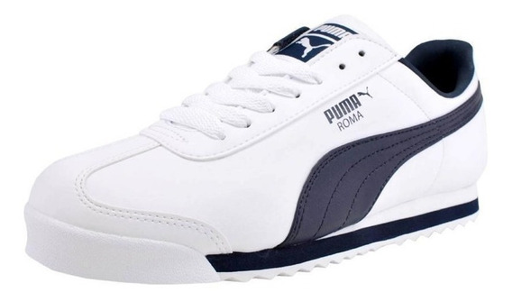 Zapatillas Puma Roma Navy Blue (42.5)_exkarg
