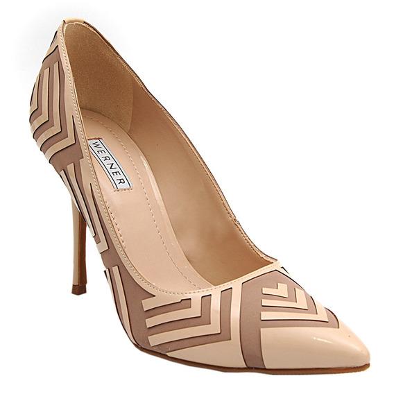 Sapato Scarpin Original Werner Feminino Casual