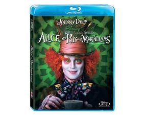 Blu-ray Alice No País Das Maravilhas Filme