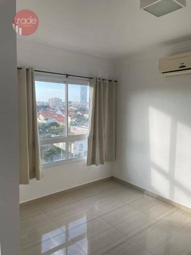 Apartamento Com 1 Dormitório Para Alugar, 36 M² Por R$ 1.250,00/mês - Residencial Flórida - Ribeirão Preto/sp - Ap6896