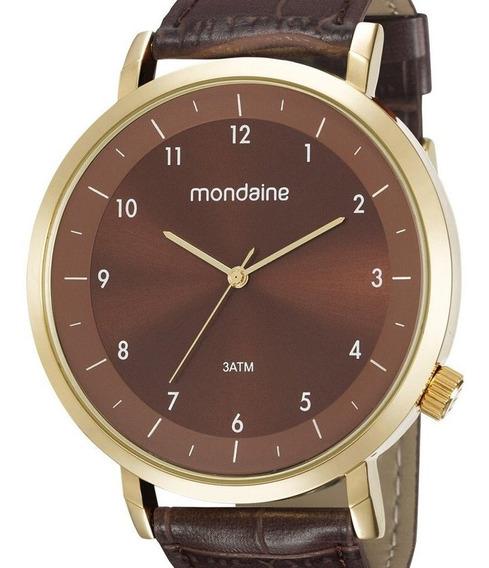 Relógio Mondaine Masculino Couro 53595gpmgdh5
