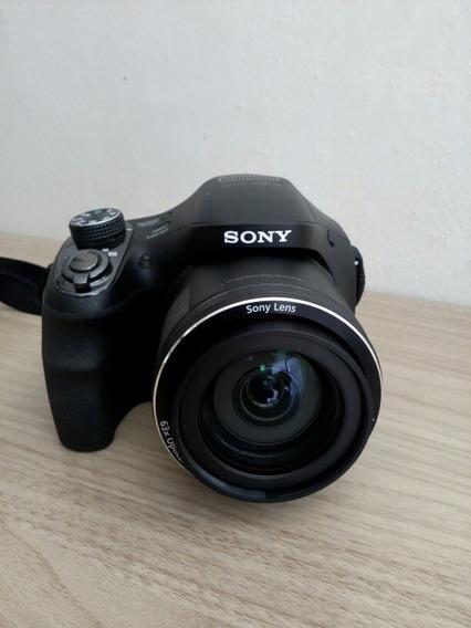 Câmera Digital Sony Dsc H400 20.1mp Zoom Ópitico 63x