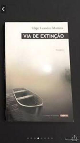 Revista Via De Extinção - Romance Filipe Leandro Martins