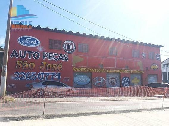 Salão Para Alugar, 50 M² Por R$ 1.500/mês - Jardim Novo Campos Elíseos - Campinas/sp - Sl0046