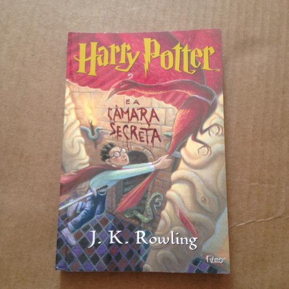 Livro Harry Potter E A Câmara Secreta - J. K. Rowling T2