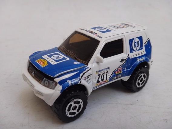 Mitsubishi Pajero Rally Hp 1:58 Majorette Carrinho Mini