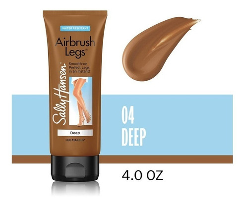 Airbrush Leg Maquillaje Piernas Color Deep 4oz Sally Hansen