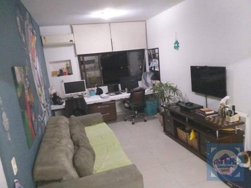 Apartamento À Venda, 64 M² Por R$ 350.000,00 - Aparecida - Santos/sp - Ap5268