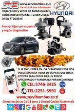 Turbo Hyundai Tucson 2.0,2.2 Diesel Guatemala