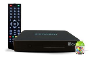Decodificador Tda Coradir + Smart Tv Box Ibox