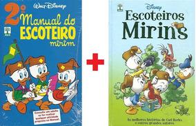 Manual Do Escoteiro Mirim 2 + Escoteiros Mirins Abril Novo
