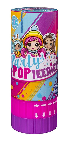 Party Pop Teenies - Poppers Surpresa - Série 1 - Sunny