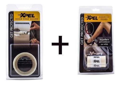 Kit Proteção De Pintura - 1 Kit Protetor De Cantos De Porta ( Door Edge) + 1 Soleira - Anti Risco Veícular - Antichip