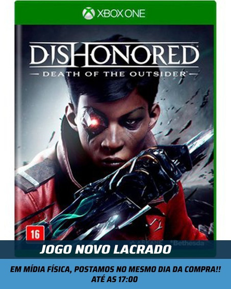 Jogo Dishonored Death Of The Outsider Xbox One Novo