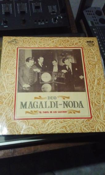 Duo Magaldi Noda Disco Doble El Farol De Los Gauchos
