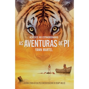 Livro - As Aventuras De Pi - Novo