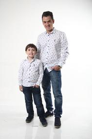 Camisa Social Masculina Tal Pai Tal Filho