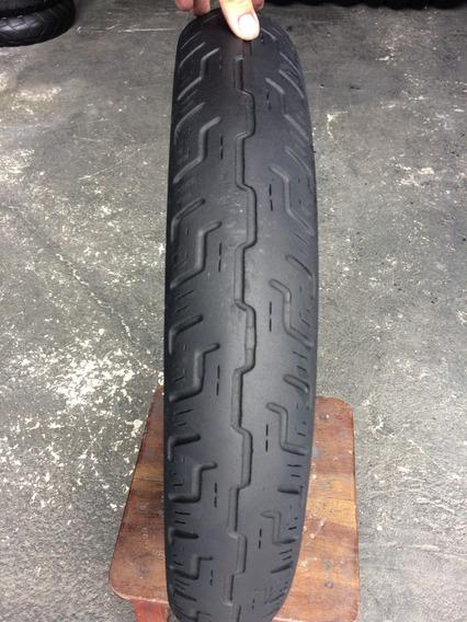 Pneu Dianteiro 100/90/18 Dunlop D401 F Usado Bom Custon Hd