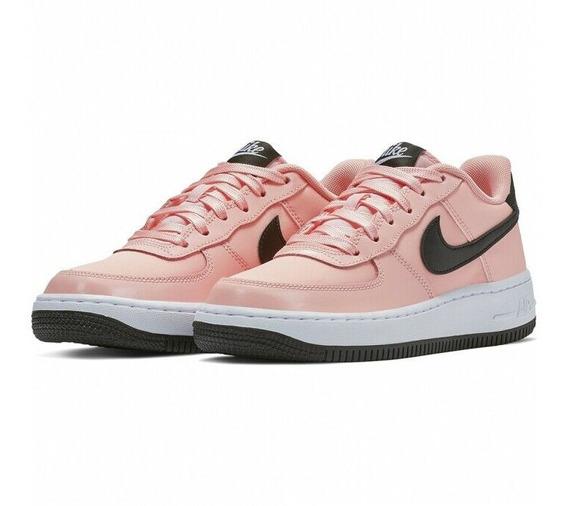 Tenis Nike Air Force 1 Coral Originales Nuevos En Caja
