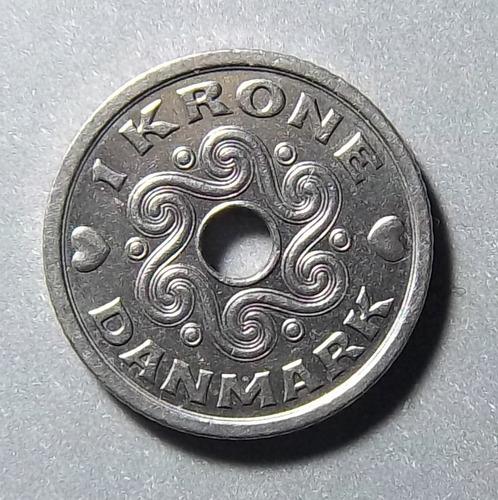 Dinamarca 1 Corona 1995 Exc Km 873.1