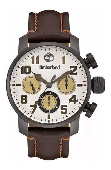 Relógio De Pulso Timberland Cuero -original- 2 Anos Garantia