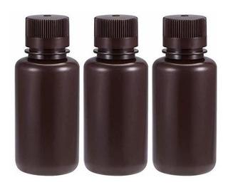 Uxcell Laboratorio De Plástico Agentes Químicos Botella De 2