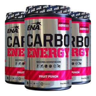 Carbo Energy Ena 540 Gr X 3 Uni Isotonica Maxima Hidratacion