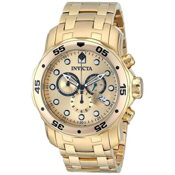 Relógio Invicta Pro Diver 0074 - Ouro 18k