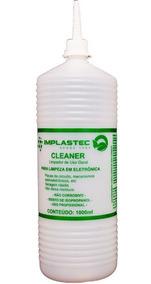 Kit 5 Cleaner 1 Litro Limpa Placas Implastec