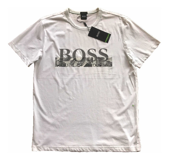 Playera Hugo Boss Original Blanca