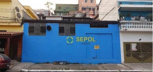 Galpão Para Alugar, 132 M² Por R$ 2.500,00/mês - Jardim Tietê - São Paulo/sp - Ga0071