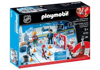 Playmobil Nhl, Advent, Calendar-road A La Taza De Juguete