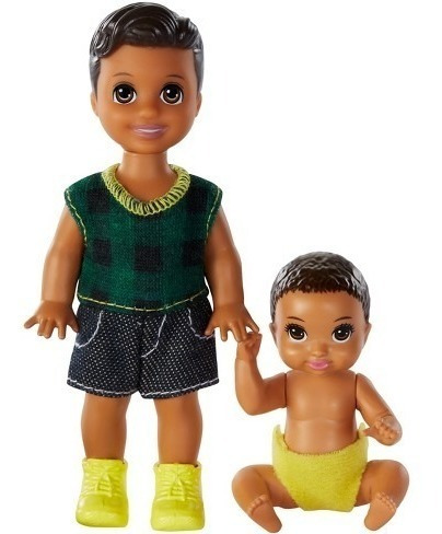 Bebe + Criança Skipper Barbie Negros Mattel Babysitter Novos