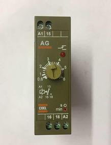 Rele De Tempo Temporizador Pulso Ag 6min Coel 220v