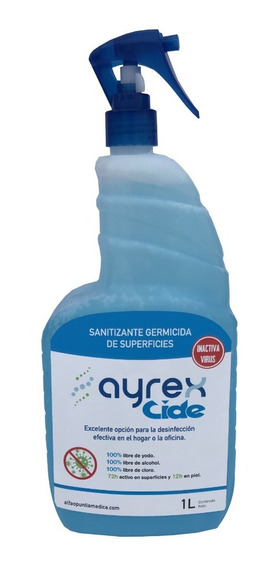 Sanitizante Germicida De Superficies 1l