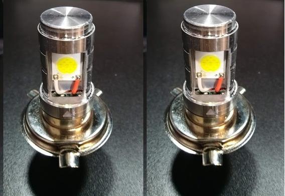 Lampada Farol Moto Led Titan Fan Start Bros Xre Kit Com 02