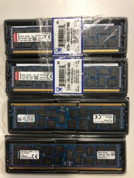 Memória Servidor Dell/hp/ibm 16gb Pc3-12800r Ecc