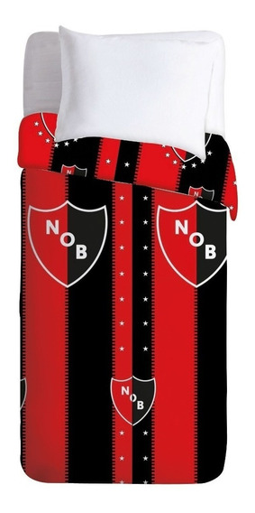Juego Sabanas Newells Old Boys Oficial 1 1/2 Plaza Ct Mmk