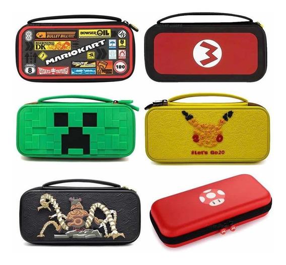 Estuche Funda Nintendo Switch Deluxe Travel Case Diseños