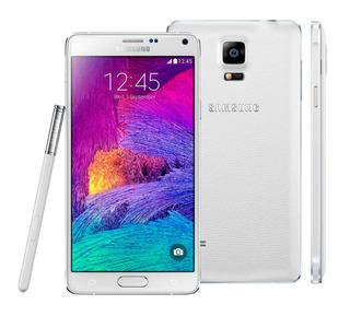 Samsung Galaxy Note 4 Branco Seminovo Excelente+capa+pelicul