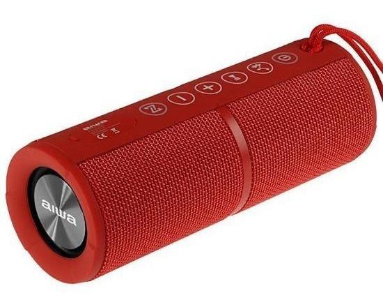 Caixa De Som Aiwa Aw-q400r Bluetooth / Mini Jack 3.5mm