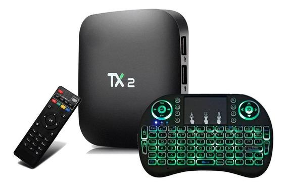 Tx2 4k 3gb /32gb Android Bluetooth + Teclado Led