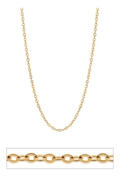 Cordão Feminino Lindo Delicado - Fio Cadeado Rommanel 531642