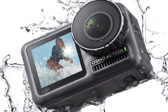 Dji Osmo Action Cam - Melhor Que Gopro Hero 7 Camera De Acao