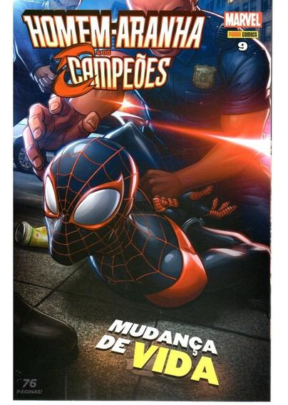 Homem-aranha E Os Campeoes 09 - Panini 9 Bonellihq Cx305 K18