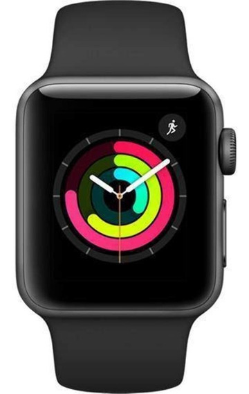 Apple Watch Series 3 (gps) 42mm Case Space Gray/black Band