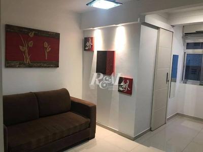 Flat Residencial - Locação - Mobiliado 1 Vaga - 47m²